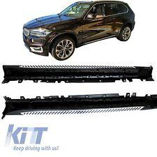 Per  BMW X5 F15 Kit Pedane Laterale Sottoporta 2013+ Minigonne Sotto Porta SUV