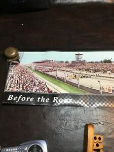 Indy 500 Before The Roar Poster 16x72