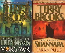 Complete Set Series - Lot of 28 Shannara Books by Terry Brooks (Word and Void)