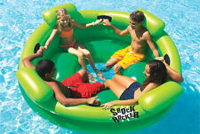 Swimline 9056 Swimming Pool Kids SHOCK ROCKER Inflatable Float Island