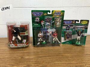 🏈 98 99 Starting Lineup McFarlane JOHN ELWAY Stanford Denver Broncos Lot Figure