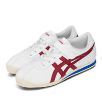 Asics Onitsuka Tiger Corsair PS White Red Blue Classic Kids Shoes 1184A051-101