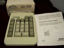Side keyboard for IBM style Keyboard( Zenith Data Systems)(found more)