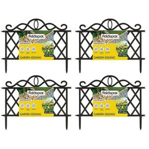 4pce Connectable Lattice for Herb, Plant, Flower Garden 47x36cm Mini Fence