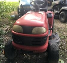 Red Craftsman 20 Horse Power Riding Lawn Mower Used