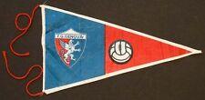 Vintage GENOA GENOVA ITALY Cloth Fabric SOCCER FOOTBALL PENNANT Banner