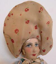"""TALL 36"""" Ravishing boudoir doll 1900 french art nouveau décor poupée de salon"""