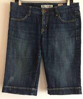 Chip and Pepper Glenbrook Bermuda Blue Jean Shorts Junior Size 7
