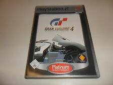 PlayStation 2 PS 2 gran turismo 4 [Platinum]