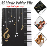 Score Paper File Holder Data Bag Piano Folder Music Folder File Filing Products