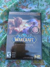 *SEALED* World of WarCraft Starter Edition PC Game WIN MAC DVD 2 Disc Set 2011