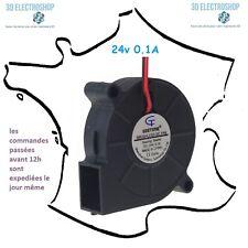 ventilateur fan brushless 5015s 24v dc 0.1A 3d print cnc
