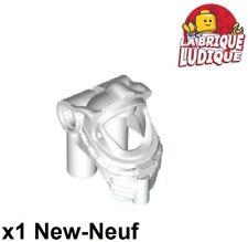 Lego 1x Minifig headgear casque helmet castle kingdoms grille metallic x167 NEUF