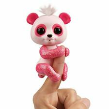 Fingerlings Glitter Panda - Polly (Pink) - Interactive Collectible Baby Pet - B