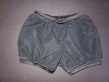 NWOT Black Medium Child Dance Costume Girls Hip hop Shorts Drawstring waist legs