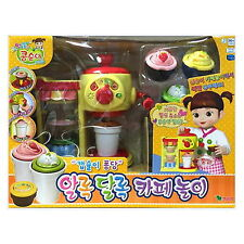 Kongsuni Cafe Play set/making juice,coffe Role play kids toy machine/ Korean TV