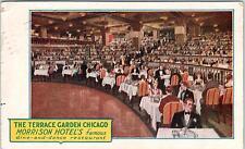 CHICAGO, IL Illinois    TERRACE GARDEN  Morrison Hotel     1928    Postcard
