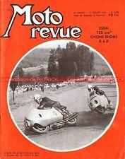 MOTO REVUE 1299 GNOME RHONE 125 R4 D Geoff DUKE John SURTEES MV AGUSTA SPA 1956
