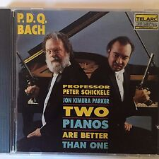 PDQ Bach (Peter Schickele) - Two Pianos Are Better Than One - Telarc CD-80376