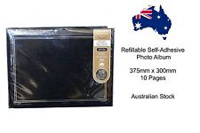 Refillable Self-Adhesive Photo Album - 375mm x 300mm 10 Pages