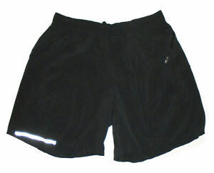 "LULULEMON 6"" SURGE Shorts BLACK Reflective Unlined Running Yoga EUC Mens : LG"