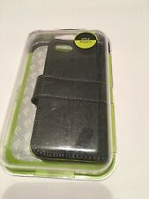 Feelook Iphone 5 black green wallet case