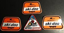 (3) VINTAGE SKI-DOO T'NT SNOWMOBILE DECALS & PATCH    (821)