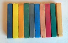 Pastels in a variety of different colours. Set of 10