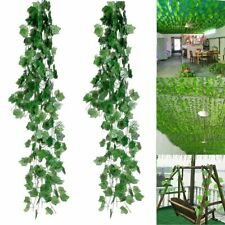 240cm Artificial Trailing Ivy Vine Leaf Garland Plants Foliage Flowers Decor