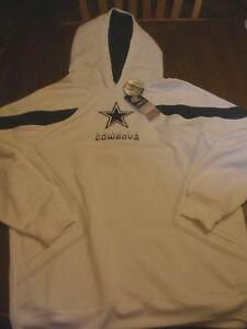 NEW Dallas Cowboys Hoodie Sweatshirt Reebok Adult Large