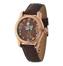 Walt Disney Automatic Watch Stainless Steel/Leather 3atm with Motif Daniel