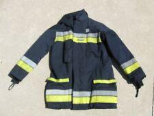 BOSTON FIRE DEPARTMENT RESCUE 1 BUNKER GEAR FIREMAN FIREFIGHTER COAT BRISTOL