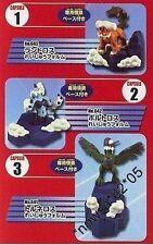 Yujin Takara Tomy Pokemon 1/40 Zukan BW Figure Set Thundurus Landorus Tornadus