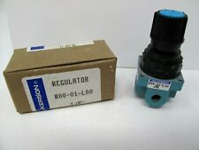 """Wilkerson Regulator R00-01-L00 1/8"""" In Box New Old Stock NOS 1988"""
