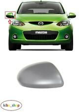 MAZDA 2 SERIES 2007 - 2010 NEW WING MIRROR COVER CAP PRIMED RIGHT O/S DRIVER