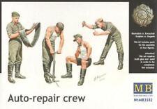 GERMAN AUTO-REPAIR CREW W/FOLDING TABLE #3582 1/35 MASTERBOX