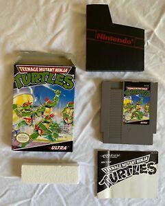 Teenage Mutant Ninja Turtles NES CIB Complete Nintendo Entertainment System
