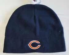 Chicago Bears Knit Beanie Winter Hat Toque Skull Cap NEW Blue Fleece