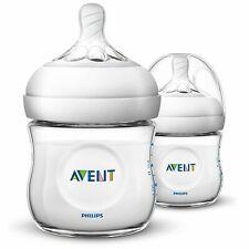 Philips AVENT Natural Newborn 2 X 125ml Feeding Bottles 0m