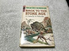 BACK TO THE STONE AGE  Edgar Rice Burroughs vintage Ace paperback book