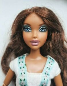 RARE Foto Photo Fabulous My Scene Madison Barbie Doll Jointed Articulated Arms
