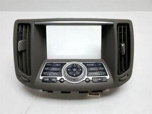 07 08 09 Infiniti G35 G37 Radio Gps Navigation Control Panel 28395JK65B