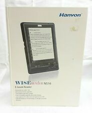 "Hanvon Wise eReader N516 5"" Display with 2GB SD Card Pocket Size"