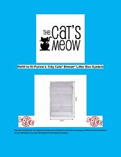 CHEAP 40 Cats Meow Generic Breeze Litter Box Pads w/ Baking Soda Infused