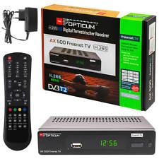 Freenet Receiver DVB-T2 Full-HD (Freenet TV 3 Monate gratis), HDMI USB Scart LAN