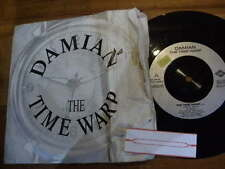 DAMIAN 1987 TIME WARP,ROCKY HORROR SHOW 7ins VINYL SINGLE 45RPM JUKEBOX RECORD