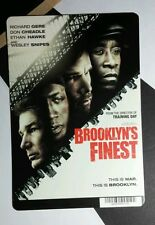 BROOKLYN'S FINEST GERE SNIPES HAWKE CHEADL MINI POSTER BACKER CARD (NOT A movie)