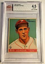 1933 GOUDEY #139 Ben Cantwell RC BVG 4.5 VG-EX+ Boston Braves PSA Fresh Graded 1