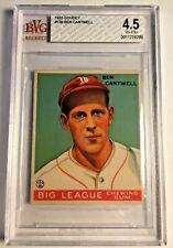 1933 GOUDEY #139 Ben Cantwell RC BVG 4.5 VG-EX+ Boston Braves PSA Fresh Graded 1