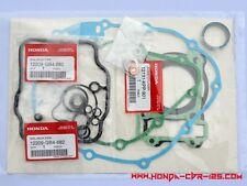 Genuine Honda CBR 125 total engine gasket set, with valve seal All type all year